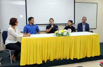 Cuatro emprendedores exitosos dieron  a conocer sus experiencias de inicio.