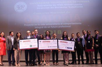Danielle Vargas gana el Concurso Nacional de Oratoria UTP 2018