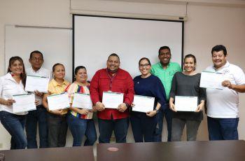 Colaboradores de la UTP Chiriquí se capacitan.