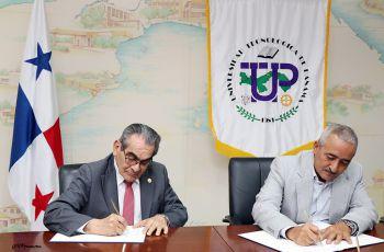 La UTP y el IDIAP firman convenio marco de Cooperación