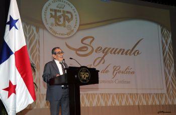 Ing. Héctor M. Montemayor Á., Rector de la UTP, presenta los logros 2019.