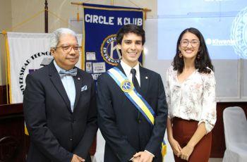 El estudiante de Ingeniería Industrial Roberto Castillero es el nuevo Presidentes del Círculo K – UTP.