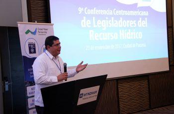 Palabras de inauguración por el Dr. José Fábrega, IX Conferencia de Legisladores del Recurso Hídrico