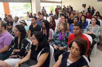 Con la participación de autoridades y docentes y estudiantes, se hizo el lanzamiento del II Congreso de Ingeniería Civil.