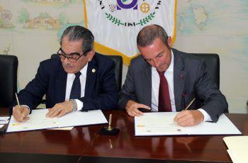 Firma del Acuerdo de Cooperación Científica y Cultural entre Sapienza Universidad  y la UTP.