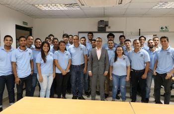 Estudiantes de la UTP conocen del mercado eléctrico