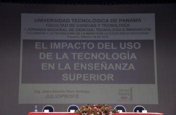 I Jornada Nacional de Ciencias, Tecnología e Innovación.