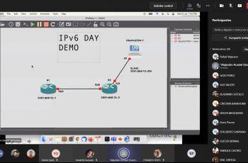 Demostración en GNS3 de implementación de IPV6.