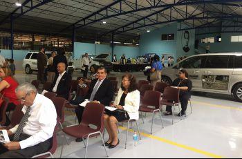 Autoridades de la FIM como invitados a la inauguración del Taller de Autotrónica en ITDB.