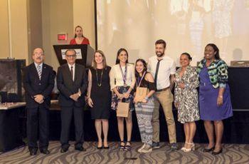 Ganadores del III Lugar en área temática de Ingeniería y Tecnología