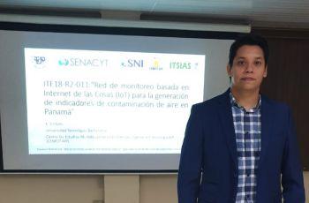 El Dr. Edwin Collado, hizo la presentación del proyecto.