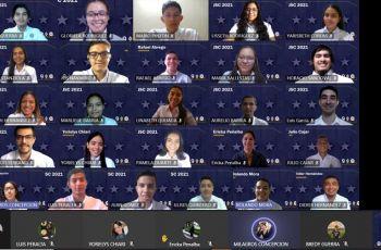 Estudiantes del grupo de IV Año de Licenciatura en Ingeniería Industrial.