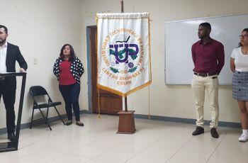 Participantes del Concurso de Oratoria