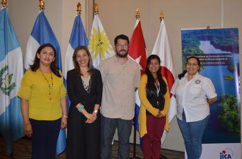 Personal del CIHH  expone en el Curso Internacional en Ecosistemas