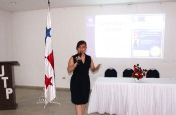 Ing. María Y. Tejedor M, Conferencista
