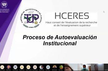 Reunión general de Docentes y Administrativos se preparan para proceso de autoevaluación institucional.