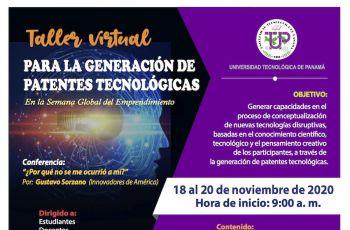 El Taller Virtual de Generación de Patentes.