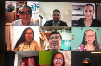 Facilitadores, autores y participantes del taller.