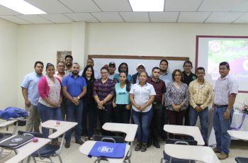 Estudiantes de la Maestría en Ing. Ambiental.