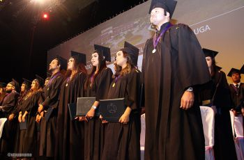 Nuevos Profesionales de la FIC de la UTP, recibieron sus respectivos diplomas.