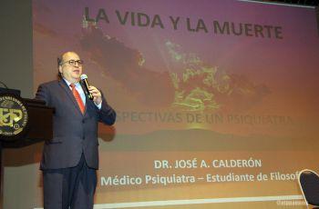 Dr. José Calderón, Coordinador Nacional del Programa de Salud Mental del Ministerio de Salud.