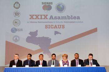 Con la participación de Universidades de Centroamérica se realiza XXIX Asamblea de SICAUS.