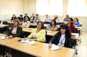 Coordinadores de Carreras y de extensión; así como Colaboradores en temas de Acreditación de las facultades, participaron en la Primera Jornada de Sensibilización: Servicio Social y Voluntariado 2019 en la UTP.