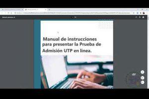 Embedded thumbnail for Buenas prácticas en las Pruebas de Admisión UTP